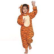 Kigurumi Pijamalar Tiger Strenç Dansçı/Tulum Festival / Tatil Hayvan Sleepwear Halloween Turuncu Kırk Yama Kigurumi İçin ÇocukCadılar