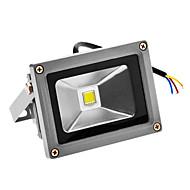 baratos Focos-JIAWEN 1pç 10 W 720-800 lm Contas LED LED Integrado Impermeável / Sensor Branco Frio 100-240 V