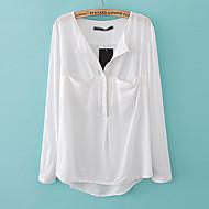EDINO Mørk Loose skjortelomme (hvid)