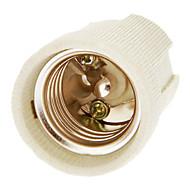 baratos -E27 cerâmico suporte da lâmpada