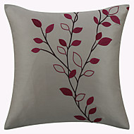 cheap Pillow Covers-1 pcs Polyester Pillow Cover, Embellished&Embroidered Country