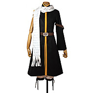 cheap -Inspired by Fairy Tail Natsu Dragneel Anime Cosplay Costumes Cosplay Suits Patchwork Coat / Pants / Belt For Men's / Women's