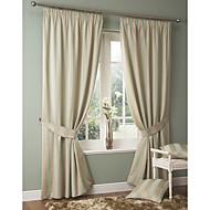 billige Gardiner ogdraperinger-(To paneler) Mediterranean Classic stripe miljøvennlig gardin