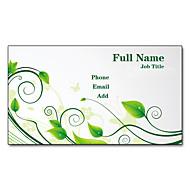Χαμηλού Κόστους Προσαρμοσμένη Κάρτες-200pcs Εξατομικευμένη 2 Πλευρές Έντυπα Matte Film Pattern Φύλλα Business Card