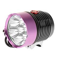 LED Lommelygter Sykkellykter Cree XM-L T6 Sykling 18650 6000 Lumens Batteri Camping/Vandring/Grotte Udforskning Dagligdags Brug Sykling