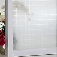Geométrico Contemporâneo Película para Vidros,PVC/Vinil Material Decoração de janela