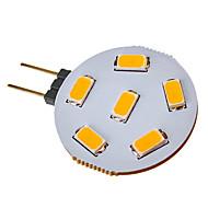 baratos Luzes LED de Dois Pinos-SENCART 2.5W 120-150lm G4 Lâmpadas de Foco de LED 6 Contas LED SMD 5730 Branco Quente / Branco Frio 12V