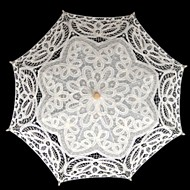 "nunta / mascarada dantela umbrela 29.9 ""(cca.76cm) accesorii de nunta"