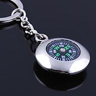 Breloc personalizate gravate de cadouri Round Compass în formă