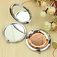 preiswerte Customized Neuheiten-Personalisierte Geschenk Forever Love Pattern Chrome Taschenspiegel