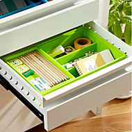 Moderne Multifunksjonell Rectangular Solid Storage Tray