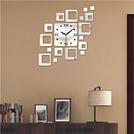 """19.75 """"h moderne stil ps bloc oglindă perete ceas perete decorare ceasuri"""