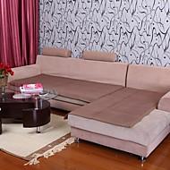 billige Overtrekk-elaine bomull kf sjekk mønster bordure vaffel sofa pute 333564