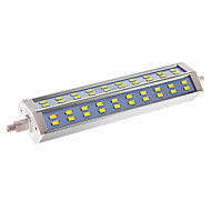billige Kornpærer med LED-18W R7S LED-kornpærer T 60 leds SMD 5730 Mulighet for demping Kjølig hvit 850-900lm 6000-6500K AC 220-240V