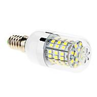 billige Spotlys med LED-7W E14 LED-kornpærer T 60 SMD 2835 550-680 lm Kjølig hvit AC 220-240 V