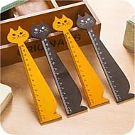 halpa -kissa muoto puinen hallitsija (random väri)