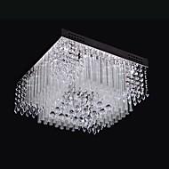 hesapli Kristal Avizeler-Modern/Çağdaş Kristal LED Sıva Altı Monteli Ortam Işığı Oturma Odası Yatakodası Yemek Odası Metal Ampul Dahil 110-120V 220-240V Beyaz 848