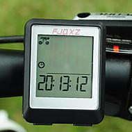 billige Sykkelcomputere og -elektronikk-FJQXZ Sykkelcomputer Stopur Vanntett Automatisk av / på Skan Sett (km / m) SPD - Gjeldende Fart Nattsyn Klokke Av - Gjennomsnittlig