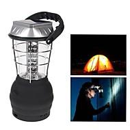 충전기 36 LED 백색 조명 핸드 크랭크 태양 손전등 캠핑 램프