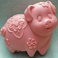 Molde de cozimento em forma de porco, w9cm x l8cm x h3.8cm \ bakewares cozinha& jantar