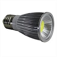 billige Spotlys med LED-1pc 7 W 400LM E14 / GU10 / GU5.3 LED-spotpærer 1 LED perler COB Varm hvit / Kjølig hvit / Naturlig hvit 110-240 V
