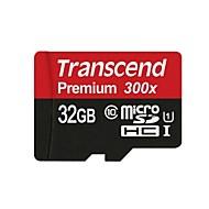 transcend 32GB マイクロSDカードTFカード メモリカード UHS-I U1 クラス10 Premium 300X