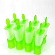 """8個入りのDIYアイスクリームポップ金型アイスキャンディーメーカー(ランダム色)、プラスチック5.6 """"x5.4"""" X5 """""""