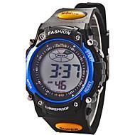 billige Sportsur-Sportsur / Digital Watch Alarm / Kalender / Kronograf Gummi Bånd Mode Sort / LCD / To år / Maxell626 + 2025