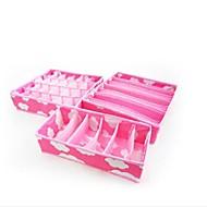 Boîte de Rangement Non Tissés avecFonctionnalité est Ouvert , Pour Sous-vêtement