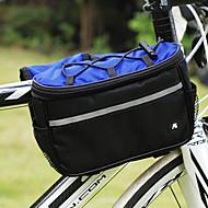 Nuckily 自転車用フレームバッグ 多機能の 自転車用バッグ ポリエステル 自転車用バッグ サイクリングバッグ サイクリング / バイク
