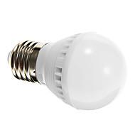 E26/E27 LEDボール型電球 G45 10 LEDの SMD 2835 自動タイプ 音検知 ナチュラルホワイト 250-280lm 6000-6500K 交流220から240V