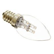 E12 LED-lysestakepærer C35 3 leds Dekorativ Varm hvit Kjølig hvit 15-20lm 2700-3200K AC 220-240V