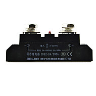 releu în stare solidă 300A DC-AC releu contact Delixi electric cdg2-da300a monofazat SSR