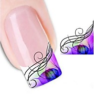 Water Transfer Printing Nail Stickers XF1315