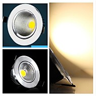 billige Innfelte LED-lys-3W Taklys / Panellys Innfelt retropassform 3 COB 300-350 lm Varm hvit Dimbar AC 220-240 V