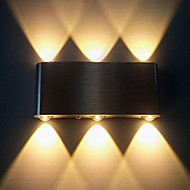 AC 85-265 6W LED Integrated Modern/Contemporary Brushed Feature for LED,Ambient Light Flush Mount wall Lights Wall Light