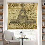 billige Rullegardiner-retro ord side med Effel tårnet bakgrunn roller skygge