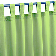 billige Gardiner og draperinger-Et panel Window Treatment Moderne Ensfarget Stue Polyester Materiale Hjem Dekor
