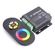 billige Lysbrytere-4a 3-kanals RGB LED musikk rf kontroller med multifunksjon fjernkontroll (DC 12V-24V, kan plugge lyd)