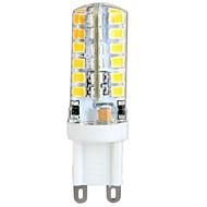 YWXLIGHT® 1pc 3 W 300 lm G9 LED-kolbepærer T 48 LED Perler SMD 2835 Varm hvid 100-240 V