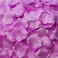 roxo pétalas de rosa decoração da mesa (conjunto de 100 pétalas)