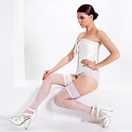 žensko odijelo& Loungewear bijele strane jacquard svilene čarape bijele