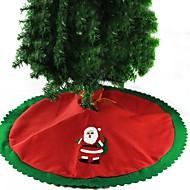 Christmas Tree Skirt Decoration Santa Claus Diameter 90CM Fresh Style