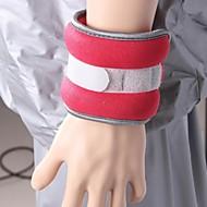 Kylin sport ™ neopren gul håndledd / ankel vekter (0.75kg hver) 1.5kg par sett fylt med jern sand for å kjøre trening