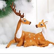 クリスマスクリスマス装飾のギフトクリスマスカップル鹿の装飾品を祝う