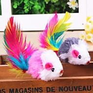 Kočka Hračka pro kočky Hračky pro zvířata Interaktivní Péřová hračka Myš Pro domácí mazlíčky