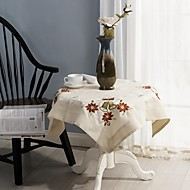 クリスマステーブルクロス古典刺繍テーブルクロス85 * 85センチメートル