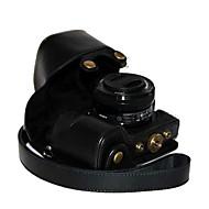 olcso -pajiatu® pu bőr olaj a bőr fényképezőgép védőtok táska fedél sony alpha a6000 a6000l ilce-6000l NEX-6