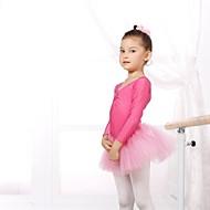 お買い得  ダンス用品-バレエ レオタード 女性用 子供用 スパンデックス チュール 長袖