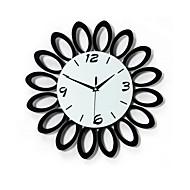 relógio elegante criativo moderno e luxuoso salão parede